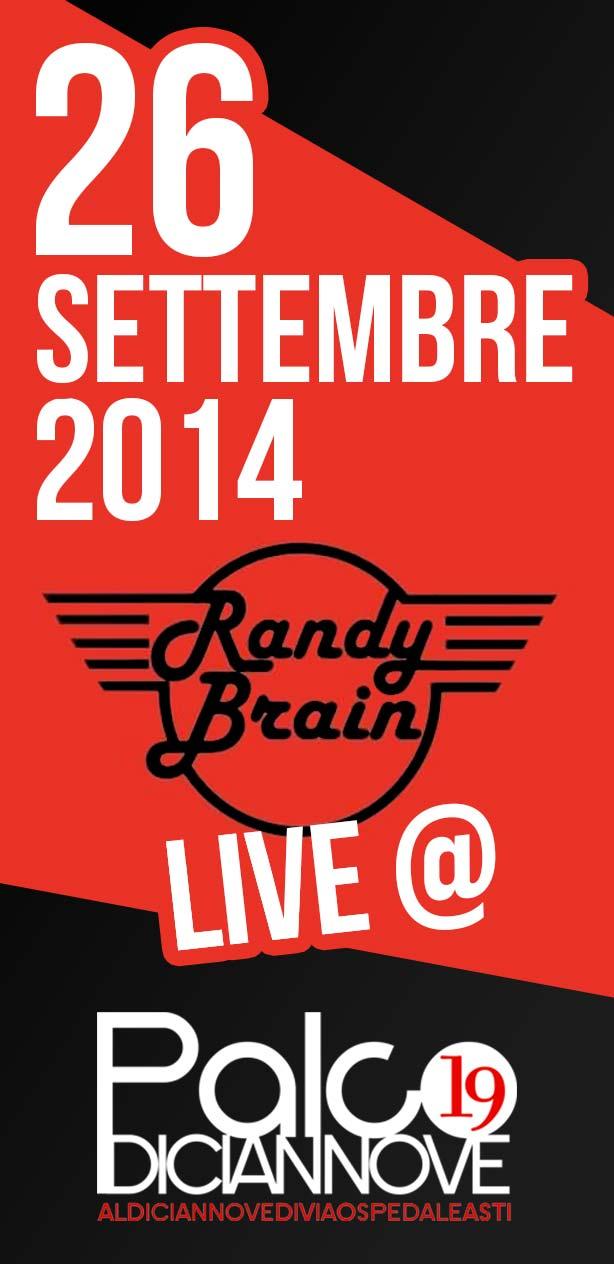 Randy-Brain-live-26-settembre